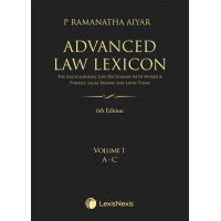 """""""Advanced Law Lexicon–The Encyclopaedic Law Dictionary with Legal Maxims, Latin Terms, Words & Phrases"""""""