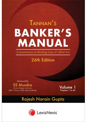 Banker's Manual- A commentary on Banking Laws and Allied Acts