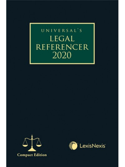 Legal Referencer 2020 (Compact Edition)...