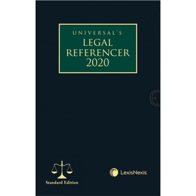 Legal Referencer 2020 (Standard Edition with flap)