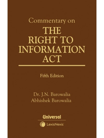 Commentary on the Right to Information A...
