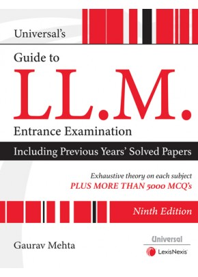 Universal's Guide to LL.M. Entrance Examination