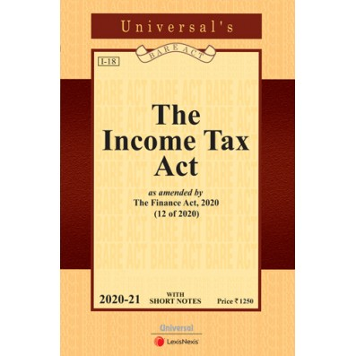 Income Tax Act as amended by the Finance Act, 2020