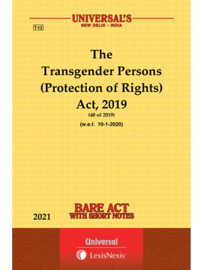 Transgender Persons (Protection of Rights) Act, 2019