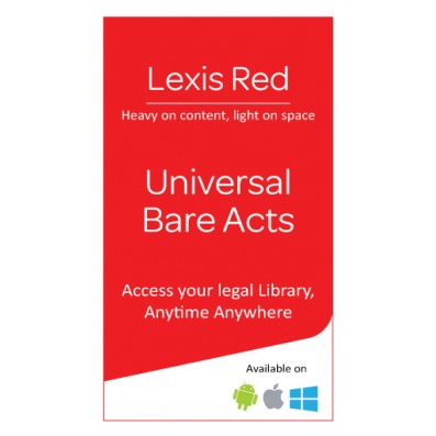 Lexis Red - Universal Bare Acts Package