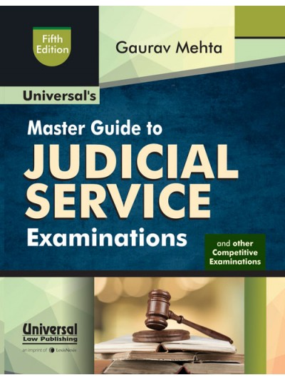 Master Guide to Judicial Service Examinations and other Law Competitive Examinations