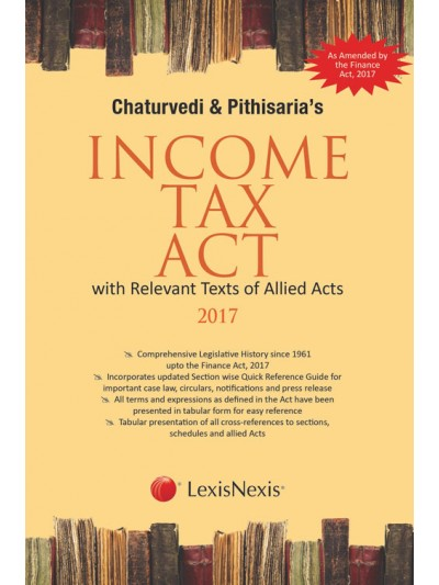 Income Tax Act with Relevant Texts of Allied Acts 2017