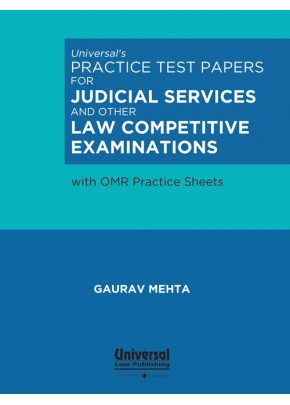 Practice Test Papers for Judicial Services and other Law Competitive Examinations