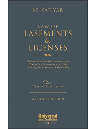 Law of Easements and Licences