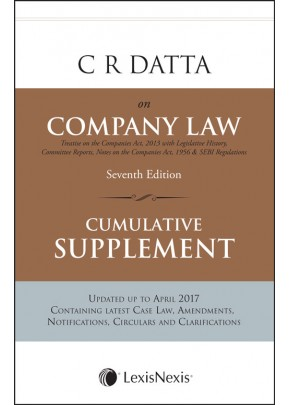 Company Law Cumulative Supplement