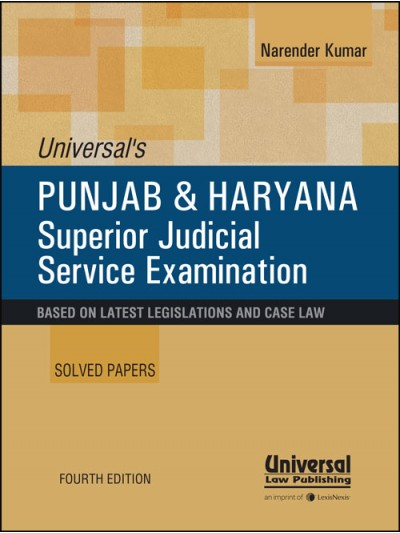 Punjab and Haryana Superior Judicial Service Solved Papers