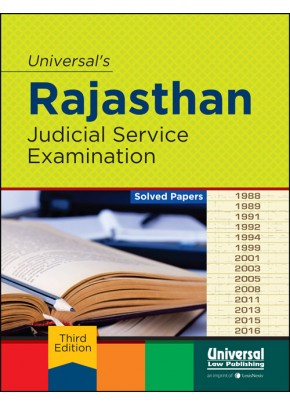 Rajasthan Judicial Service Examination (Solved Papers)