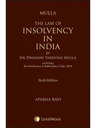 The Law of Insolvency in India
