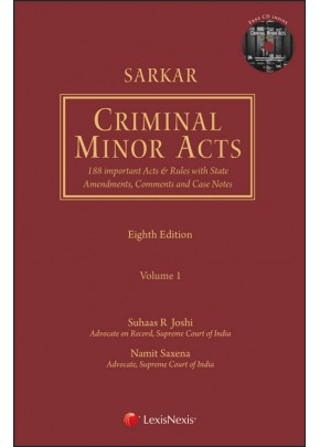 Criminal Minor Acts–188 Important Acts & Rules with State Amendments, Comments and Case Notes