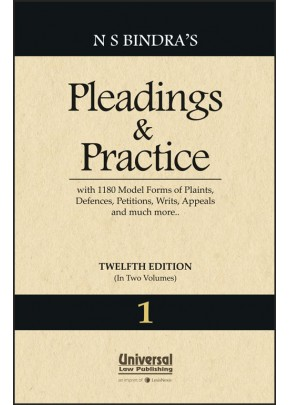 Pleadings and Practice with more than 1180 Model Forms of Plaints, Defences, Petitions, Writs, Appeals and much more…