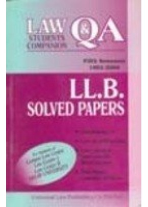 LL.B. Solved Papers (Delhi University), Fifth Semester