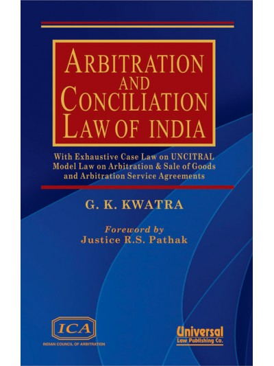 Arbitration and Conciliation Law of India