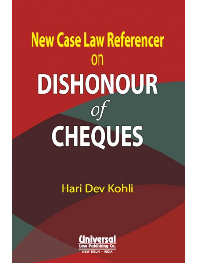 New Case Law Referencer on Dishonour of Chequess