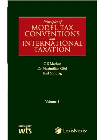 Principles of Model Tax Conventions and International Taxation