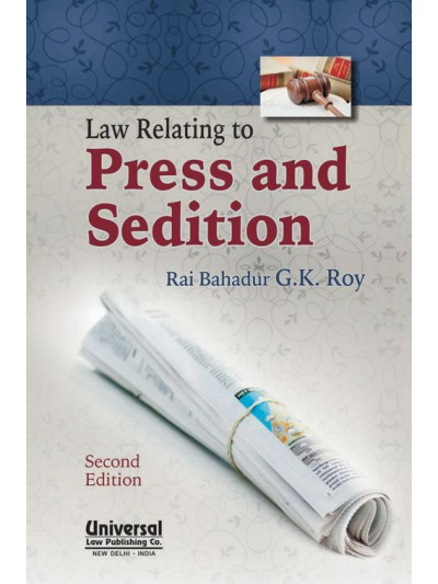 Law Relating to Press and Sedition
