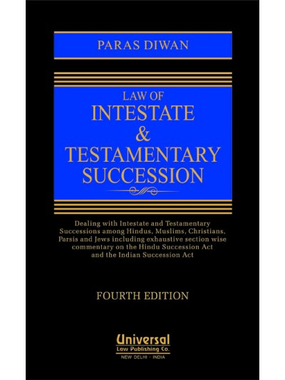 Law of Intestate and Testamentary Succession