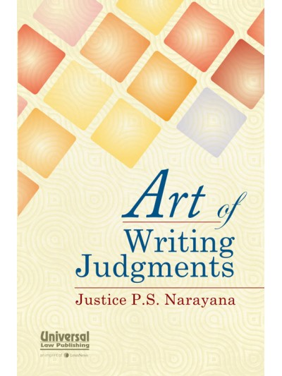 Art of Writing Judgments