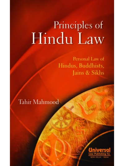 Principles of  Hindu Law - Personal Law of Hindus, Buddhists, Jains & Sikhs