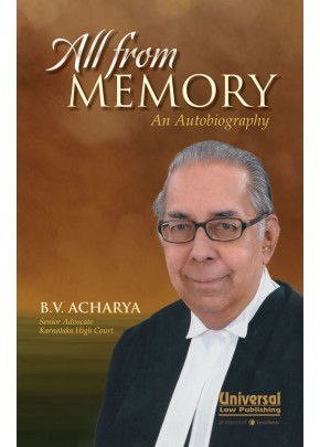 All from Memory - An Autobiography