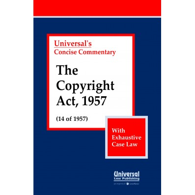 Copyright Act, 1957 (14 of 1957) (With Exhaustive Case Law)