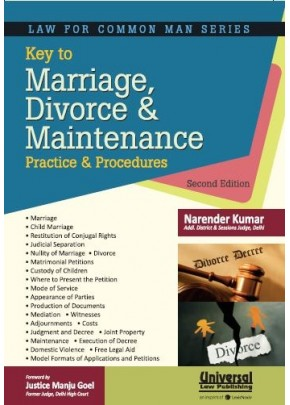 Key to Marriage, Divorce and Maintenance Practice and Procedures