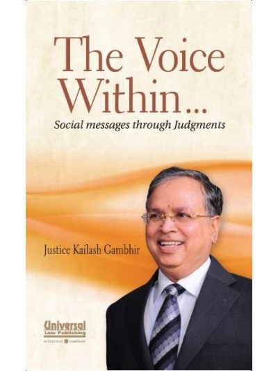 The Voice Within … Social messages through Judgments