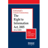 Right to Information Act, 2005 (22 of 2005) (With Exhaustive Case Law)