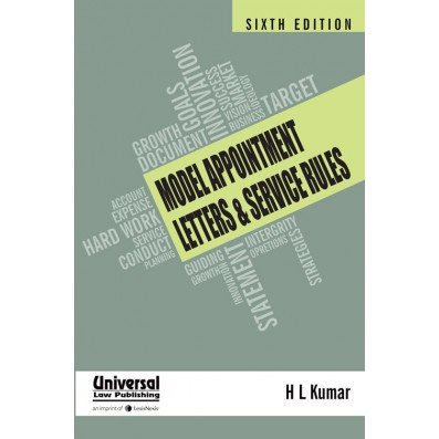 Model Appointment Letters and Service Rules
