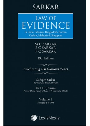 Law of Evidence–In India, Pakistan, Bangladesh, Burma,Ceylon, Malaysia & Singapore
