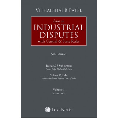 Law on Industrial Disputes (With Central and State Rules)