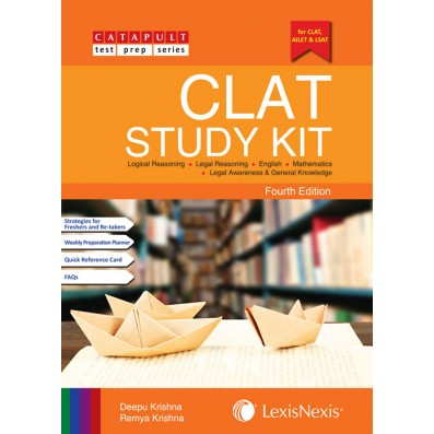CLAT Study Kit ( Legal Reasoning, English, Logical Reasoning, Mathematics and Legal Awareness & General Knowledge)