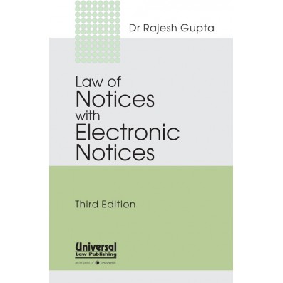 Law of Notices with Electronic Notices