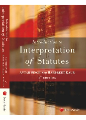 Introduction to the Interpretation of Statutes