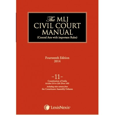 Civil Court Manual (Central Acts with important Rules); Constitution of India-Articles 214 to 226 (Note 160) ; Vol 11