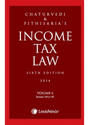 Income Tax Law; Vol 6 (Sections 139 to 181)