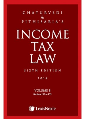 Income Tax Law; Vol 8 (Sections 195 to 255)