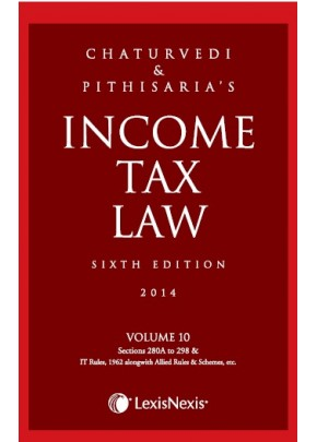 Income Tax Law; Vol 10 (Sections 280A To 298 & IT Rules, 1962 alongwith Allied Rules & Schemes, etc.)