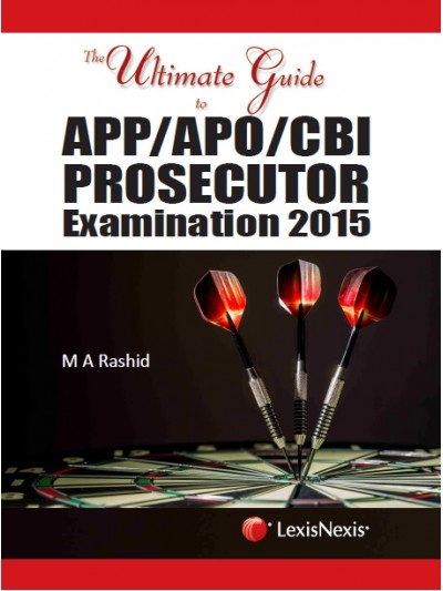 The Ultimate Guide to APP/APO/CBI Prosecutor Examination 2015