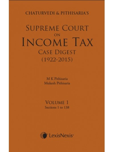 Supreme Court on Income Tax Case Digest (1922-2015)
