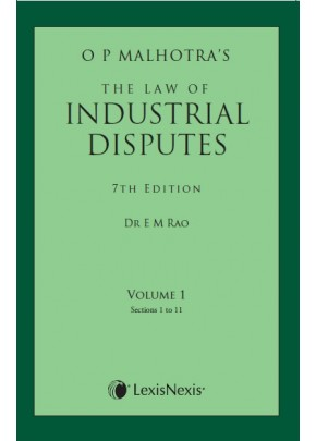 The Law of Industrial Disputes