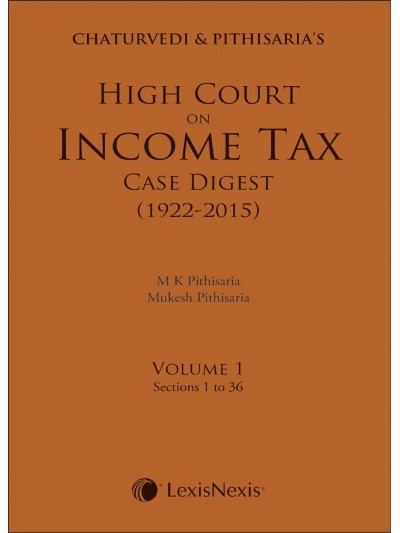 High Court on Income Tax Case Digest (1922-2015)