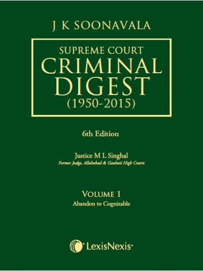 Supreme Court Criminal Digest (1950-2015)