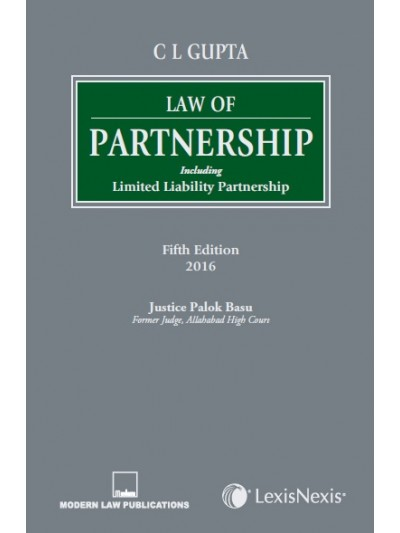 Law of Partnership–Including Limited Liability Partnership