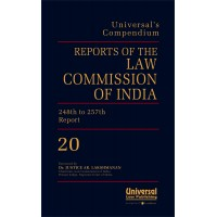 Reports of the Law Commission of India {(No. 1 (1956) to 257 (2015)}