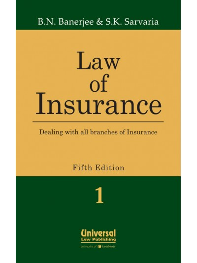 Law of Insurance - Dealing with all branches of Insurance